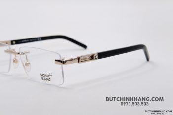 Gọng kính Montblanc Rimless Rose Gold Eyeglasses 398