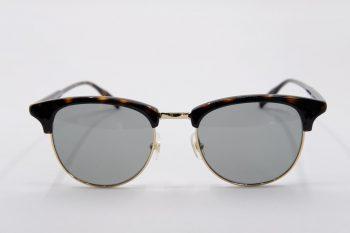 Kính mát Montblanc Green Round Men's Sunglasses MB0083S