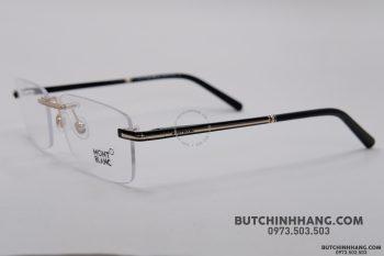 Gọng kính Montblanc Rimless Rose Gold Eyeglasses 577