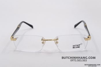 Gọng kính Montblanc Rimless Gold Eyeglasses 9101